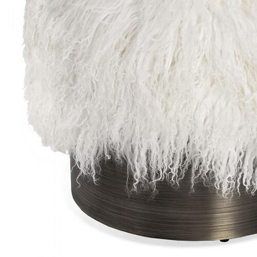 Doutzen Stool - Ivory Sheepskin