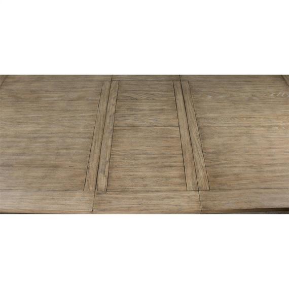 Riverside - Southport - Dining Table - Smokey White/antique Oak Finish