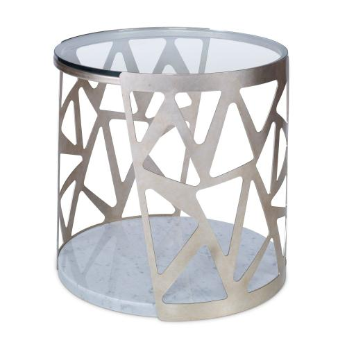 Ambella Home - Pierced Round End Table