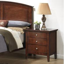 See Details - Cheffes 136 Cherry Wood Night Stand