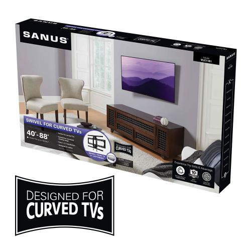 Swivel Mount for Curved TVs
