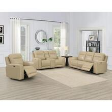 Doncella 3 Piece Dual Power Leather Motion Set(Sofa, Loveseat & Chair)