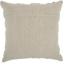 Life Styles Gt747 Khaki 2' X 2' Throw Pillow