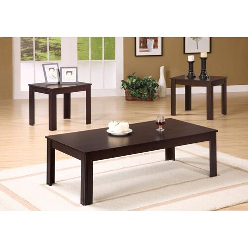 Gallery - TABLE SET - 3PCS SET / ESPRESSO