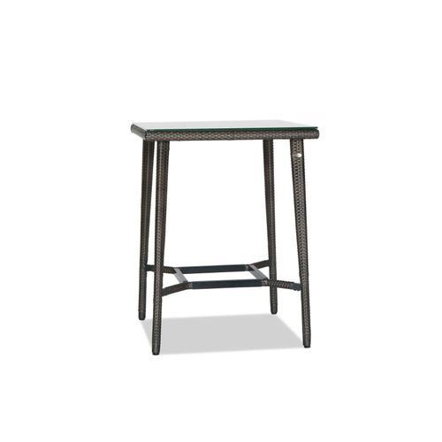 Ratana - Palm Harbor Square Bar Table w/Clear Glass