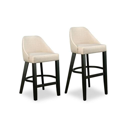 """- Laguna 26"""" Counter Chair in Leather"""