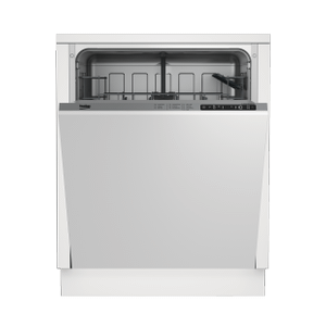 BekoStandard Tub Dishwasher with 14 place settings, 48 dBA Fully integrated panel ready