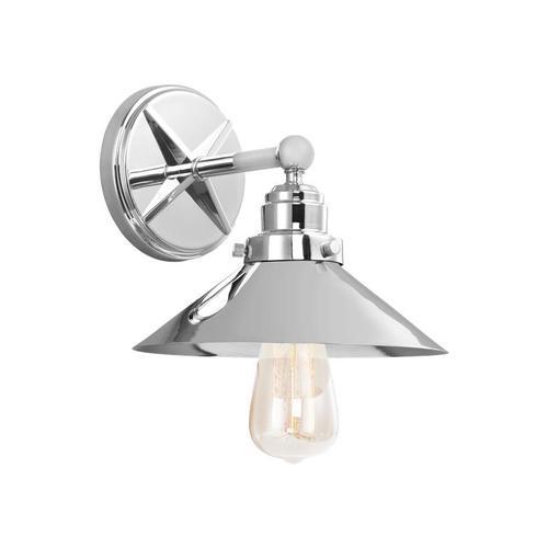 Hooper 1 - Light Sconce Chrome