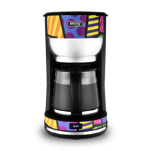 Kalorik by Britto 10-cup Coffee Maker, Multicolor Design