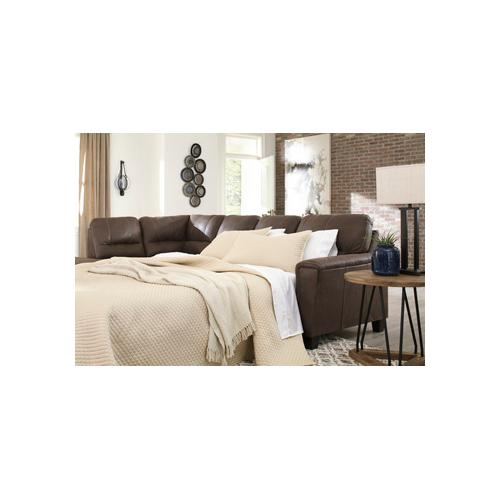 Signature Design By Ashley - Navi Right-arm Facing Sofa Sleeper
