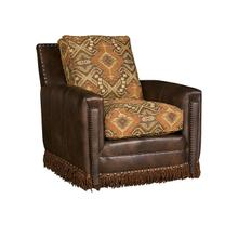 Grand Junction Leather/Fabric Swivel Chair