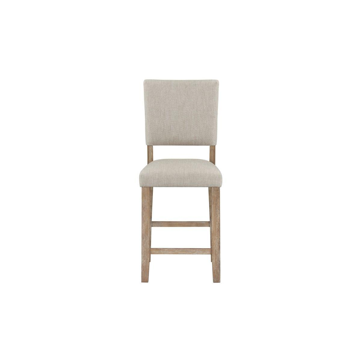 Auburn Honey Counter Height 2-Pack Chair