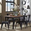 Opt 7 Piece Rectangular Table Set Product Image
