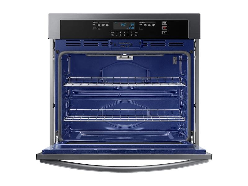 """30"""" Smart Single Wall Oven in Black Stainless Steel Photo #2"""