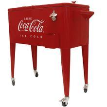 "View Product - Coca-Cola® Retro ""ICE COLD"" 80 qt. Cooler"