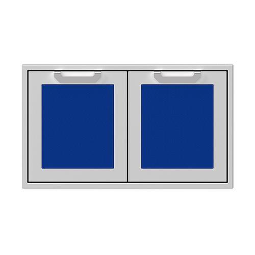 """Hestan - 36"""" Hestan Outdoor Double Access Doors - AGAD Series - Prince"""