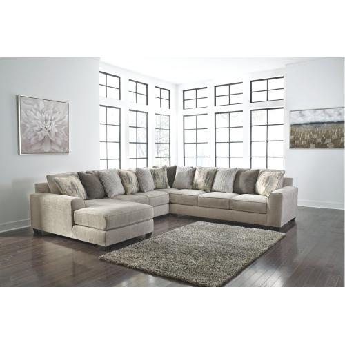 Benchcraft - Ardsley 4-piece Sectional With Chaise