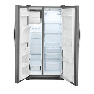 Frigidaire 25.5 Cu. Ft. Side-by-Side Refrigerator **OPEN BOX ITEM** Ankeny Location