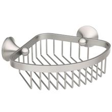 Wynford brushed nickel shower basket