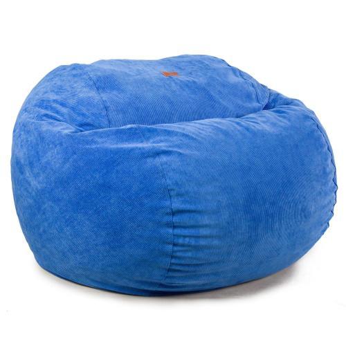 King Chair - Corduroy - Navy Blue