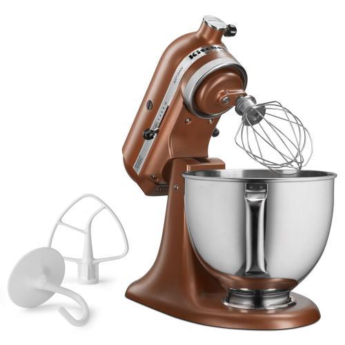 KitchenAid - Artisan® Series 5 Quart Tilt-Head Stand Mixer - Copper Pearl