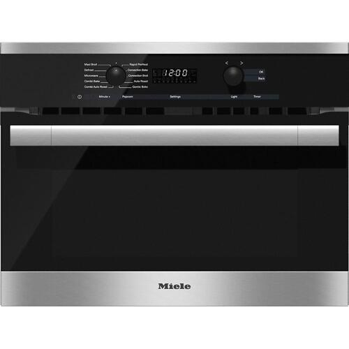 H 6100 BM 24 Inch Speed Oven With electronic clock/timer and combination modes for quick, perfect results.