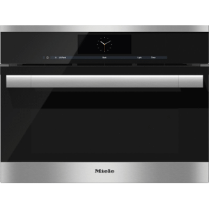MieleDGC 6700-1 - Steam oven with full-fledged oven function and XL cavity combines two cooking techniques - steam and convection.