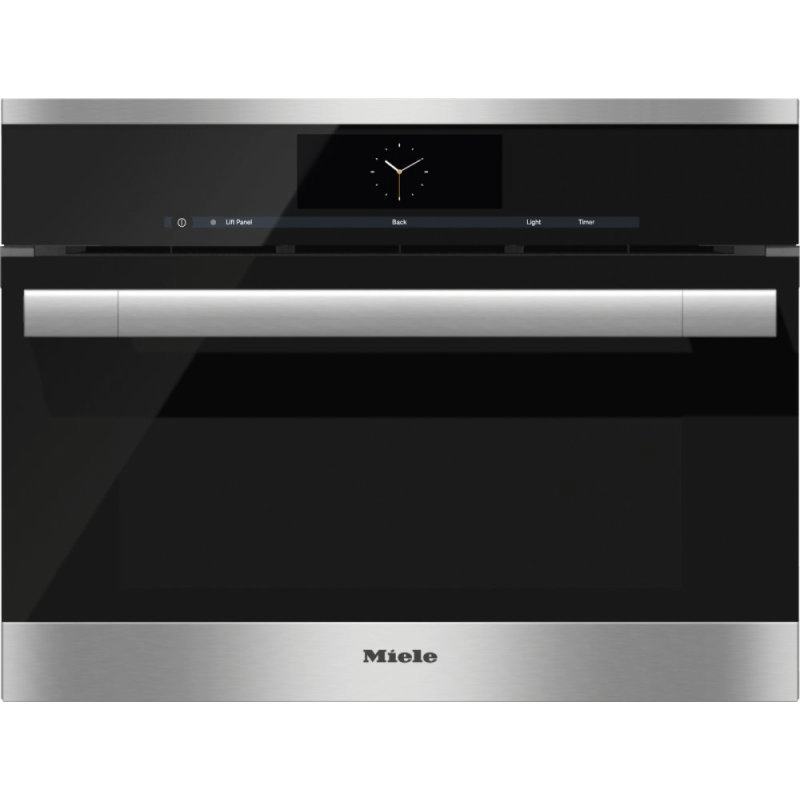 DGC 6700-1 - Steam oven with full-fledged oven function and XL cavity combines two cooking techniques - steam and convection.