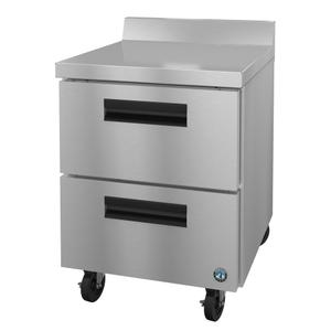 HoshizakiWF27A-D2, Freezer, Single Section Worktop, Stainless Drawers