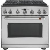 "36"" All-Gas Commercial-Style Range with 6 Burners (Natural Gas)"