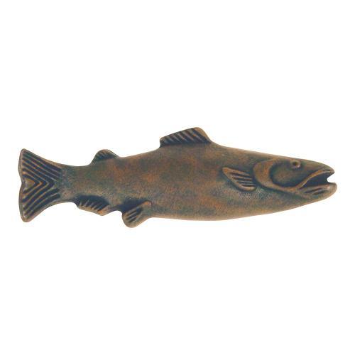 Fish Pull 3 Inch (c-c) - Rust