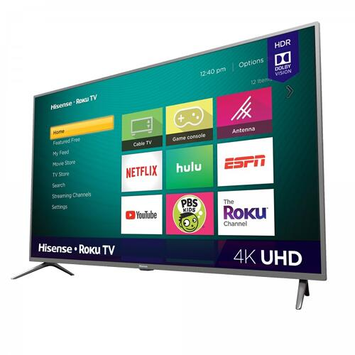 "70"" Class - R6290 Series - 4K UHD Hisense Roku TV with HDR (2019) SUPPORT"