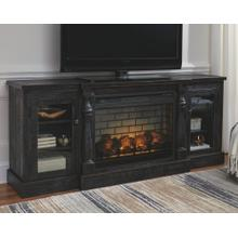 2 Piece Set (TV Stand and Fireplace Insert)