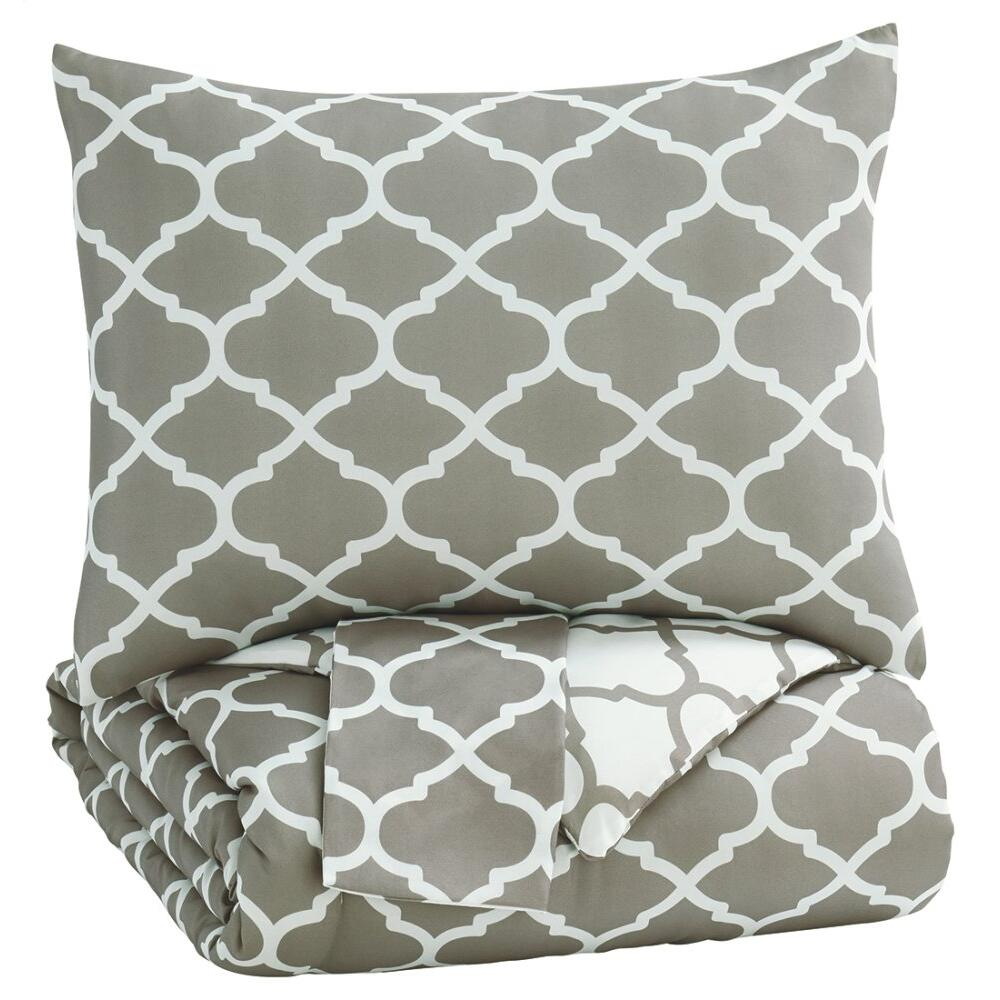 Media 3-piece Full Comforter Set