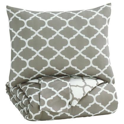 See Details - Media 3-piece Full Comforter Set