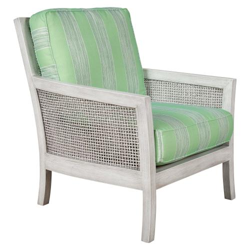 Capris Furniture - Occassional Chair, Available in Distressed White or Distressed Grey Finish.