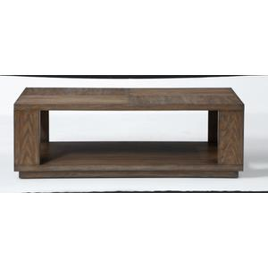 Maximus Rectangular Coffee Table with Casters