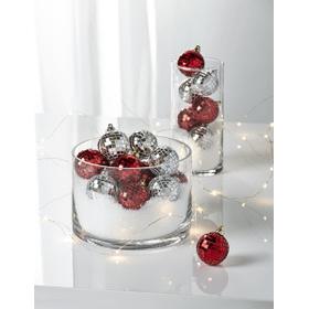 Disco Ball Ornaments - Silver (18 pc. ppk.)