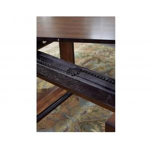 """Toulon 90-inch Dining Table with 18"""" Leaf"""