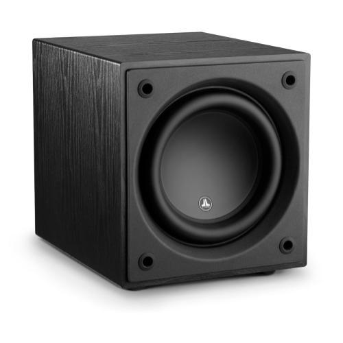 JL Audio - 10-inch (250 mm) Powered Subwoofer, Black Ash Finish