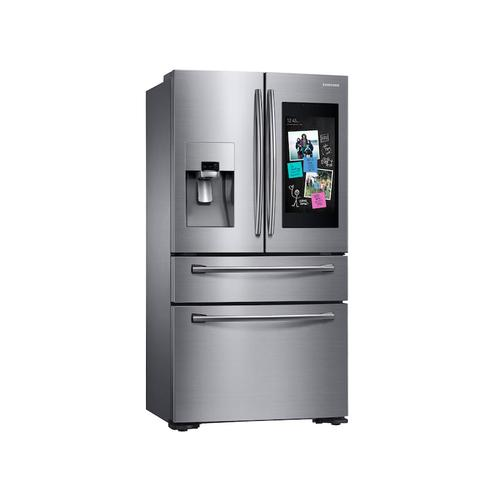 22 cu. ft. Family Hub Counter Depth 4-Door French Door Refrigerator in Stainless Steel