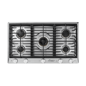 """36"""" Professional Gas Cooktop, Natural Gas/High Altitude"""