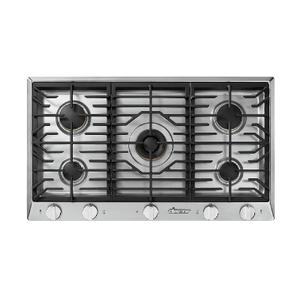 "Dacor36"" Professional Gas Cooktop, Liquid Propane"