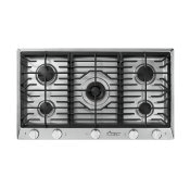 "36"" Professional Gas Cooktop, Natural Gas"