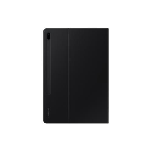 Samsung - Galaxy Tab S7 FE Book Cover, Mystic Black