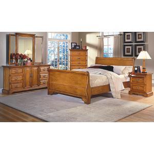 Honey Creek Caramel Bedroom Collection