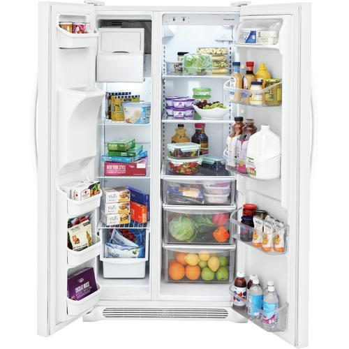 Frigidaire - Frigidaire 22.1 Cu. Ft. Side-by-Side Refrigerator