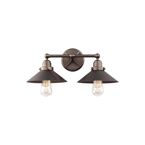Hooper 2 - Light Vanity Antique Bronze