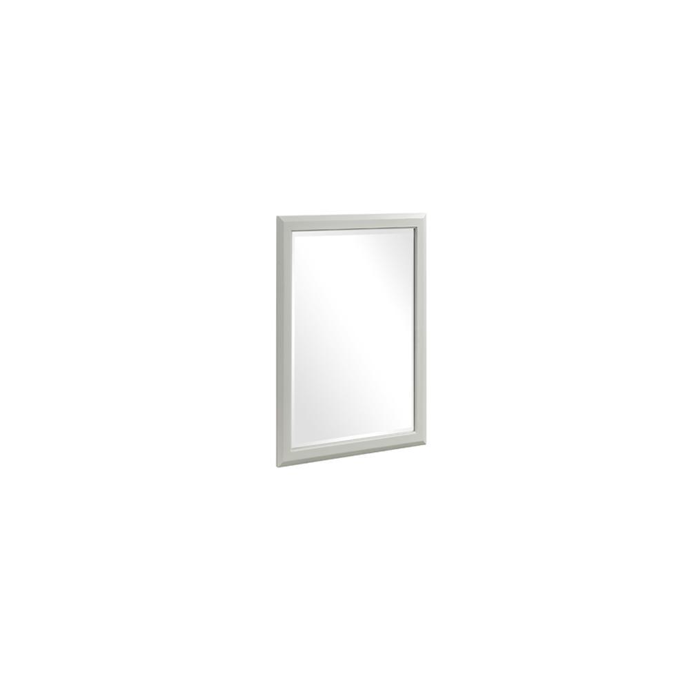 "Charlottesville 24"" Mirror - Polar White"