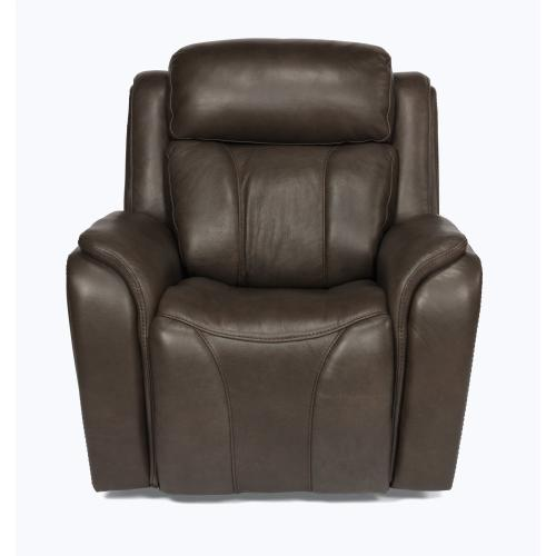 Paisley Power Recliner with Power Headrest